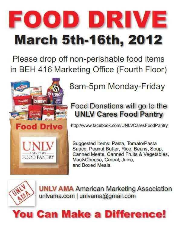 Food Drive Poster Template from legaldbol.com