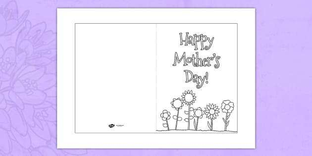 62 Free Printable Mother S Day Card Template Sparklebox Maker with Mother S Day Card Template Sparklebox