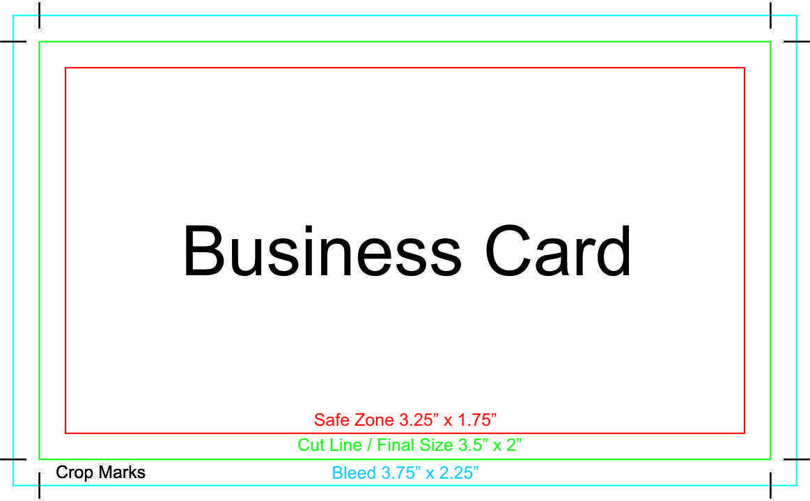 62 How To Create Business Card Size Print Template With Stunning Design with Business Card Size Print Template