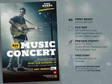 62 How To Create Concert Flyer Template Free With Stunning Design with Concert Flyer Template Free