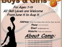 62 Online Basketball Camp Flyer Template in Photoshop with Basketball Camp Flyer Template