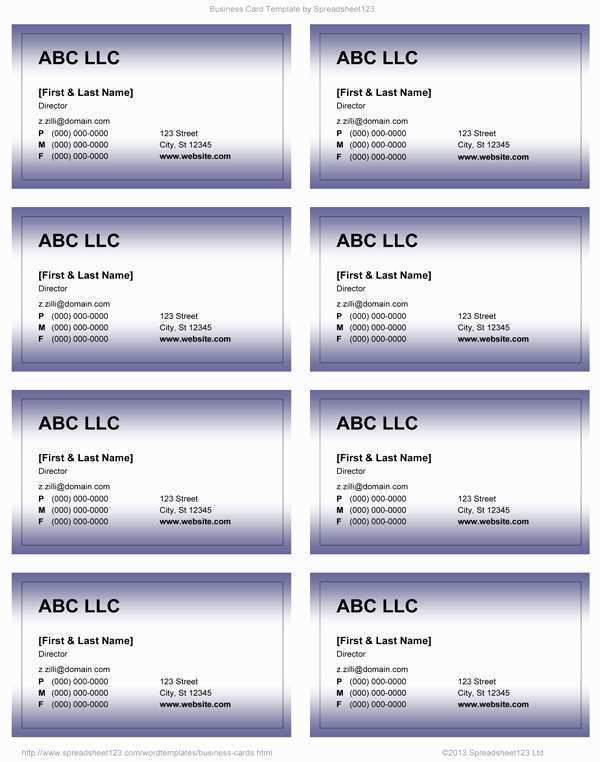 62 Online Business Card Template On Microsoft Word PSD File by Business Card Template On Microsoft Word