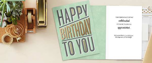 62 Printable Birthday Card Template For Employee Now for Birthday Card Template For Employee
