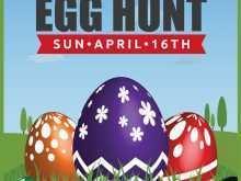 Easter Egg Hunt Flyer Template Free