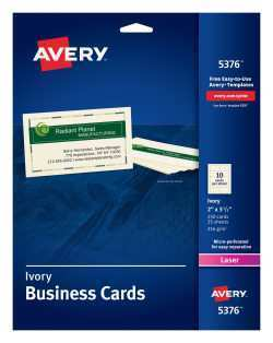 62 Report Business Card Template Avery 5376 For Free by Business Card Template Avery 5376