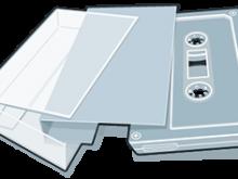62 Standard Audio Cassette J Card Template in Photoshop with Audio Cassette J Card Template