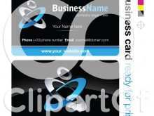 R+F Business Card Template