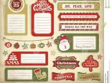 63 Adding Christmas Card Tags Template for Ms Word for Christmas Card Tags Template