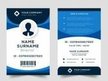 Id Card Template Editable