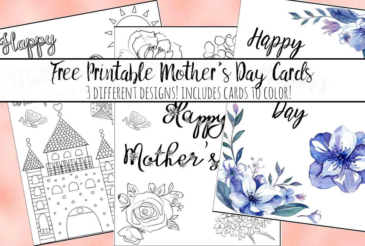 63 Best Mother S Day Card Templates To Colour Photo with Mother S Day Card Templates To Colour