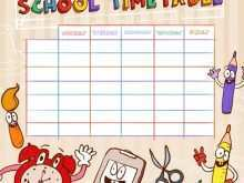 63 Create Class Timetable Template Free Maker with Class Timetable Template Free
