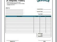 63 Creating Blank Commercial Invoice Template Now for Blank Commercial Invoice Template