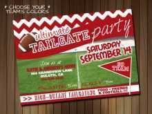 Free Football Tailgate Flyer Template