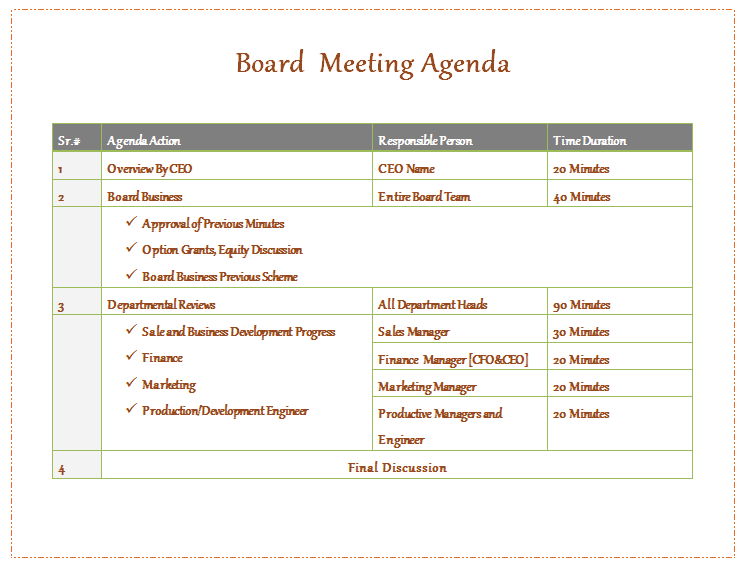 63 Creative Board Meeting Agenda Template Photo By Board Meeting Agenda Template Cards Design Templates