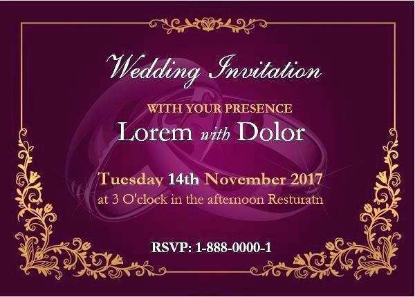 63 Customize Invitation Card Template On Word Download for Invitation Card Template On Word