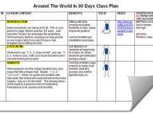 63 Customize Our Free 6 Class Lesson Plan Template Maker with 6 Class Lesson Plan Template