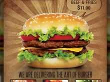 63 Customize Our Free Burger Flyer Template Templates with Burger Flyer Template