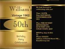 63 Free 50Th Birthday Card Template Free Maker with 50Th Birthday Card Template Free