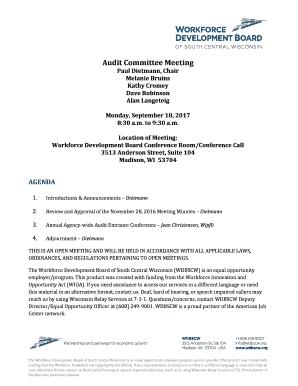 63 Free Printable Audit Committee Meeting Agenda Template Formating for Audit Committee Meeting Agenda Template