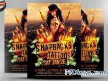 Tattoo Flyer Template Free