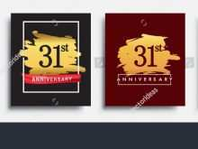 63 How To Create 31St Birthday Card Template PSD File with 31St Birthday Card Template