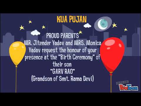 63 How To Create Invitation Card Format For Kua Pujan Photo