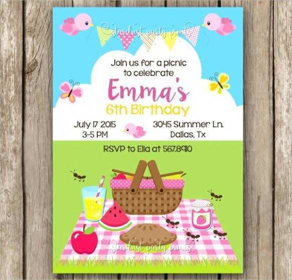 63 Printable Blank Picnic Flyer Template for Ms Word with Blank Picnic Flyer Template