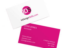 63 Printable Business Card Indesign Template Free Download Formating with Business Card Indesign Template Free Download