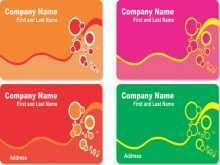 Business Card Templates Corel Draw