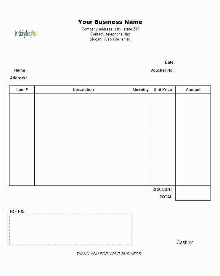 63 The Best Blank Invoice Template Google Sheets in Word for Blank Invoice Template Google Sheets