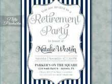 63 The Best Free Retirement Party Flyer Template Formating for Free Retirement Party Flyer Template