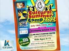 63 The Best Summer Camp Flyer Template with Summer Camp Flyer Template