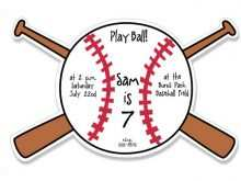 63 Visiting Baseball Birthday Card Template Photo for Baseball Birthday Card Template