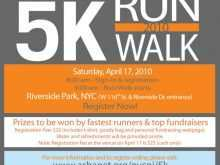 64 Best 5K Race Flyer Template For Free with 5K Race Flyer Template