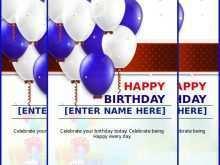 Birthday Card Templates Microsoft Word