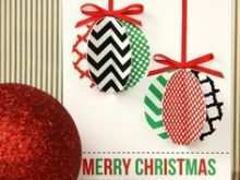 64 Best Christmas Card Ornaments Template Maker by Christmas Card Ornaments Template