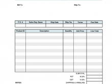 64 Best Company Invoice Format In Excel PSD File for Company Invoice Format In Excel