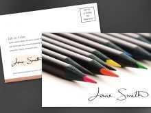 Postcard Design Template Illustrator