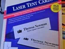 64 Blank Avery Laser Tent Card Template with Avery Laser Tent Card Template
