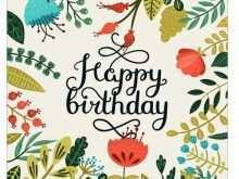 64 Create Free Birthday Card Template Cricut in Word with Free Birthday Card Template Cricut