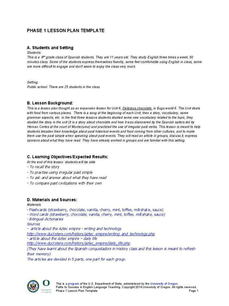 64 Creating 6 Class Lesson Plan Template in Word for 6 Class Lesson Plan Template