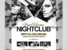 64 Creating Club Flyers Template With Stunning Design with Club Flyers Template