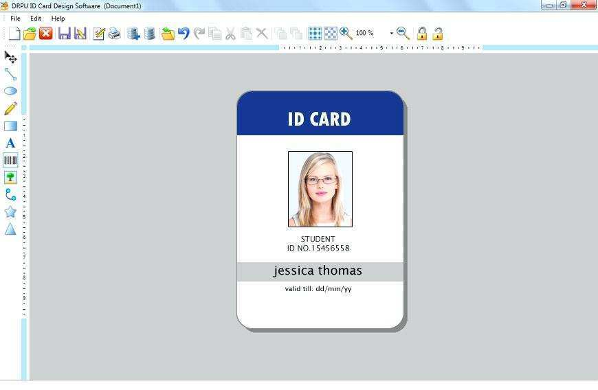 64 Creating Id Card Template Design Software Psd File By Id Card Template Design Software Cards Design Templates