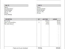 64 Creating Invoice Copy Format Maker for Invoice Copy Format