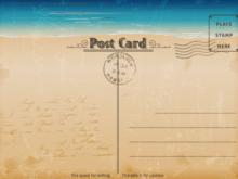 64 Creative Template Of Postcard Free Printable Layouts for Template Of Postcard Free Printable