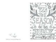 64 Customize Christmas Card Colouring Templates Free Photo for Christmas Card Colouring Templates Free