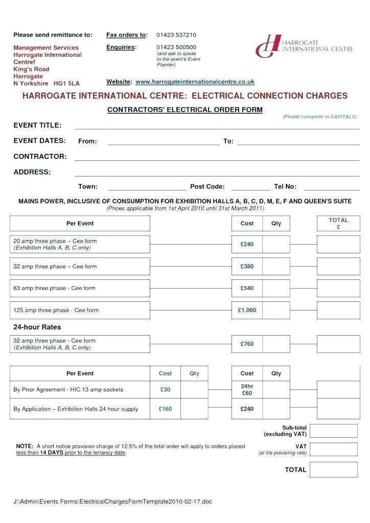 64 Customize Our Free Blank Electrical Invoice Template Photo with Blank Electrical Invoice Template
