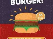 64 Customize Our Free Burger Flyer Template Photo by Burger Flyer Template