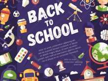 Postcard Template School