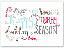 64 Format Christmas Card Templates Printable for Ms Word by Christmas Card Templates Printable